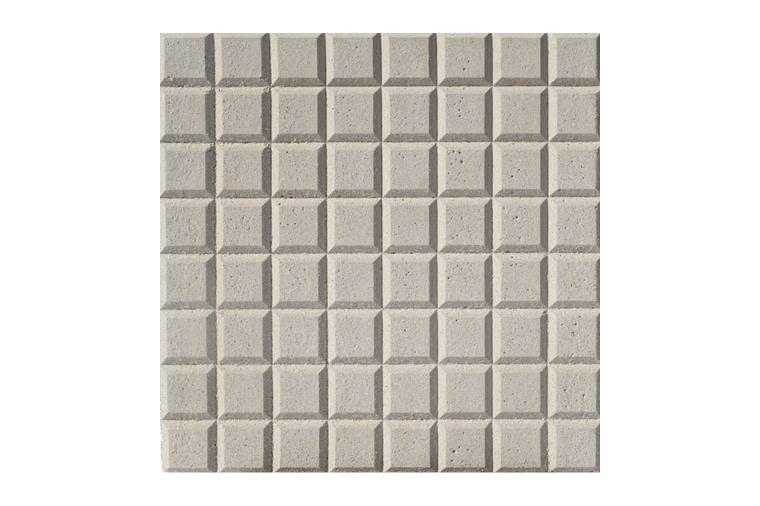 Baldosa hidraulica de tacos 30x30x3 gris 64 tacos ceramica campo