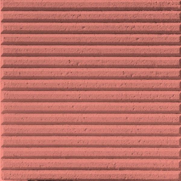 Baldosa hidraulica podotactil 30x30x3 color canutillos