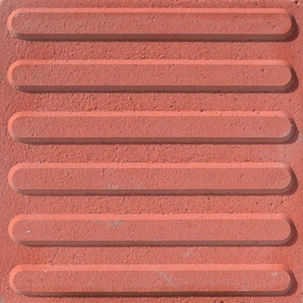 Baldosa hidraulica podotactil 30x30x3 color direccional