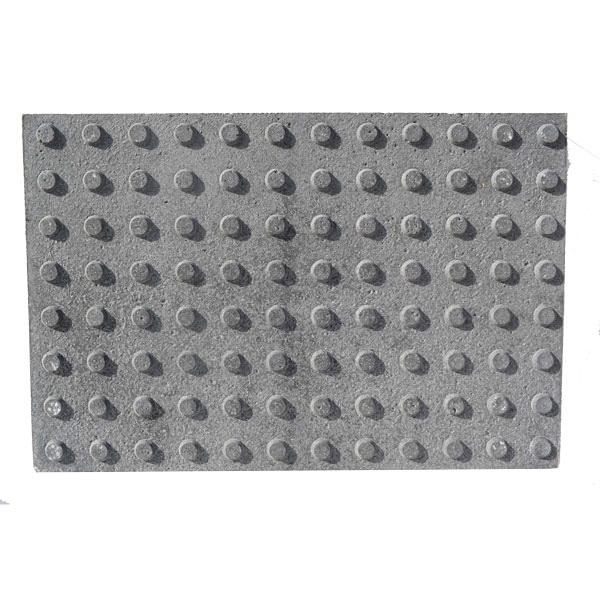 Baldosa hidraulica podotactil 60x40x4,7 girs 96 botones
