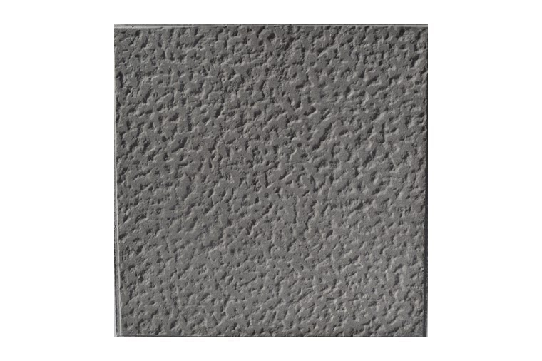Baldosa hidraulica rustica 40x40x5 gris petrea ceramica campo