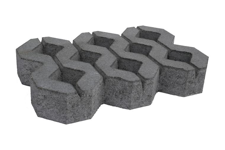 Losa cesped bicapa ceramica campo