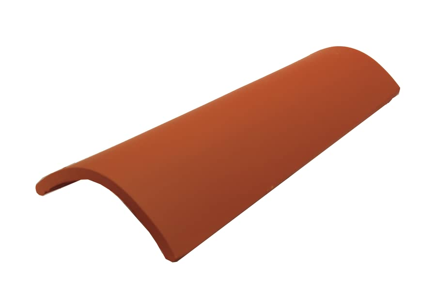 Teja curva de 46 ceramica campo